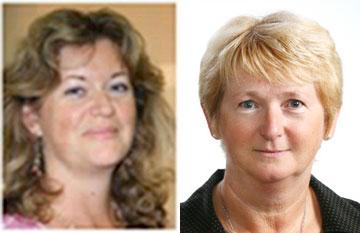 Megan Seward and Sue Daly