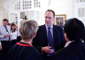 British High Commissioner Antony Phillipson